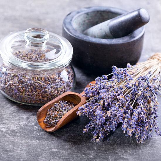 Lavendel getrocknet